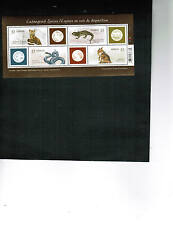 CANADA 2006 ENDANGERED SPECIES set #1  sheetlet   MNH #2173   LOT SS 2006
