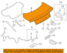 FORD OEM 15-17 Mustang-Trunk Lid FR3Z7640110B