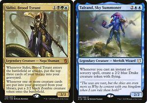 2 Mazzi MAGIC Commander - Sidisi - Talrand