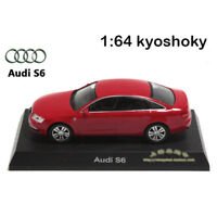 Red Kyosho 1:64 AUDI S6 Diecast Model Car Mint 1/64 2007 limited edition