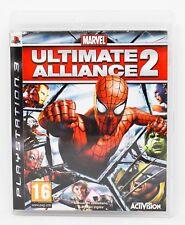 MARVEL ULTIMATE ALLIANCE 2 - PLAYSTATION 3 PS3 PLAY STATION 3 - PAL ESPAÑA