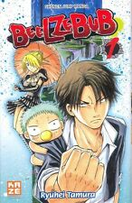 BEELZEBUB tome 1 Ryuhei Tamura manga shonen