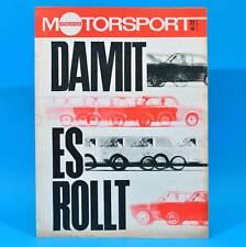 DDR Illustrierter Motorsport IMS 25/1968 Wasserski Vauxhall Victor Heißluftmotor