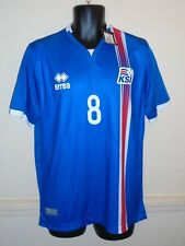 Iceland Home Shirt 2016-2017 GEORG 8 large men's New With Tags #1260