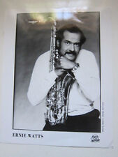 Ernie Watts 8x10 photo