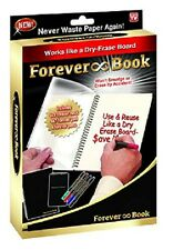 As Seen on TV Forever Book Reusable Whiteboard Notebook (FB-MC12) pack of 4