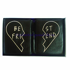 REBECCA MINKOFF Betty Pouch Best Friends New Leather Black Gift Set Box Tag