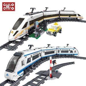 Train électrique Grande Vitesse Fuxing Hexie Blocs de Construction 641 ou 941 Pi