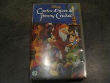 K7 - VHS - Contes d'hiver de Jiminy Cricket - DISNEY - 1996 - Français - PAL