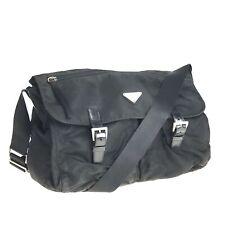 PRADA nylon shoulder bag Black Used 1375-11N96