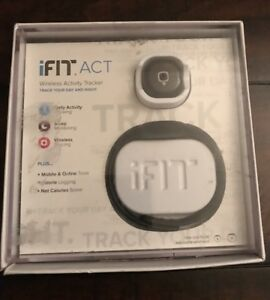 iFIT ACT Wireless Activity Tracker Track Your Day and Night Activity(Returned)