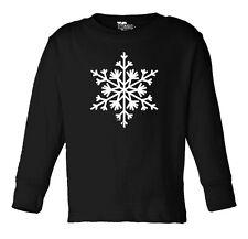 Snow Flake - Winter, Christmas Toddler Long Sleeve T-shirt