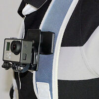Fashion 360° Rotary Quick Release Backpack Hat Clip Clamp Mount For Go Pro*dm