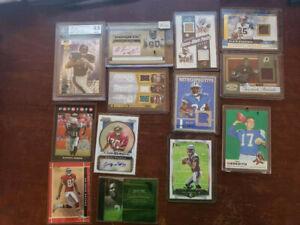 NFL Lot NFL Auto Jersey # RC Packs Urlacher, Williams, Norwood