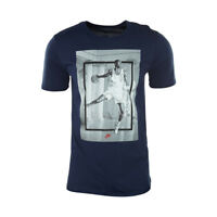 NIKE AIR JORDAN HANGTIME BLUE T-SHIRT 807787-410