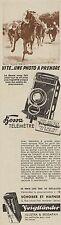 Y8386 Appareil Photo VOIGTLANDER Bessa Télémetre - Pubblicità d'epoca - 1937 Ad