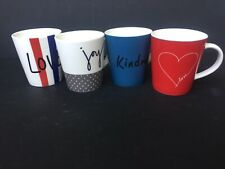 Royal Doulton Ellen DeGeneres Joy Accents Mugs (set of 4)