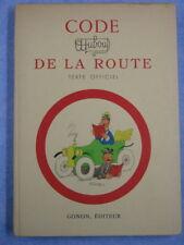 Code de la route, Dubout, texte officiel