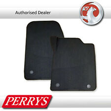 Vauxhall Vectra C Signum Moulded Rubber Anthracite Front Car Mats GENUINE OE