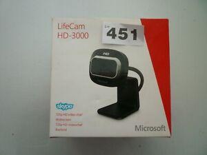 Microsoft Lifecam HD-3000 - New