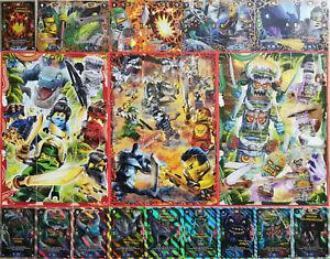Lego Ninjago Serie 6 Die Insel TCG aus allen 252 Sammelkarten einzeln aussuchen