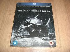 The Dark Knight Rises Blu-Ray Steelbook NEU
