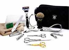 16 Pieces Men's Grooming, Manicure & Pedicure Set. Perfect Gift For Christmas