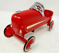 "Hallmark Kiddie Car Classics 1940 Gendron Roadster Pedal Car 6"" Red Metal Toy"