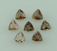 ANDALUSITE 1.20 CT RARE 3.5 MM TRILLION SHAPE FACETED WHOLESALE LOT OF 10 PIECE