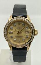 Orologi da polso Rolex analogico con cinturino in oro giallo