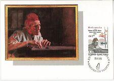 59117 - FINLAND - POSTAL HISTORY: Set 2 MAXIMUM CARD 1985 - LITTERATURE Kalevala