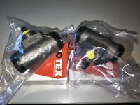 NEW PAIR OF REAR WHEEL CYLINDERS SUIT HOLDEN HQ HJ HX HZ & WB .. ALL MODELS ..