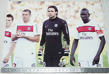 PHOTO 29.5 X 21 PARIS SAINT-GERMAIN PSG SIRIGU SAKHO ARMAND FOOTBALL 2011-2012