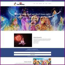 Sitio web de Disney negocio ganar £ 65.99 una venta | Dominio Gratis | Hosting Gratis | tráfico libre