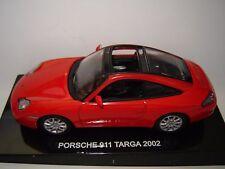 PORSCHE 911 TARGA de 2002 ROUGE au 1/43 °