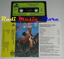 MC EUGENIO FINARDI Roccando rollando 1979 1 STAMPA ITALY CRAMPS no cd lp dvd vhs