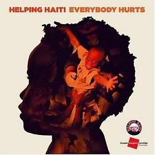 HELPING HAITI - EVERYBODY HURTS - CD single NEW - distributed by Sony music Aust