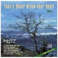 Karaoke: They'll Never Break Your Heart by Karaoke (CD, Apr-2011)