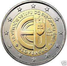 manueduc   ESLOVAQUIA  2014  2 EUROS  Conmemorativa 10º Aniv entrada en la  U.E.