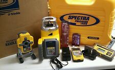 SPECTRA PRECISION UL633-14 LASER KIT W/ DIGIROD DR400 DUAL SLOPE OR PIPE LASER