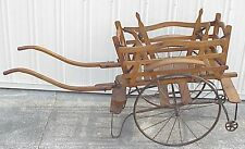AWSOME Unique Antique Twins Baby Carriage Buggy Stroller? Rickshaw?