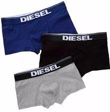 NWT Diesel Rocco. Sz M, Men 3 Pack. Cotton, Boxer, Multi-Color Solid. MRSP $39.0