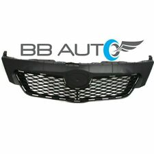 NEW UPPER FRONT BUMPER GRILLE GRILL BLACK FOR 2009-2010 TOYOTA COROLLA