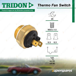 Tridon Thermo Fan Switch for Land Rover Defender 2.5L 10P Turbo Diesel