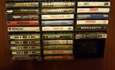 METAL & HARD ROCK CASSETTE LOT - 26 Tapes Metallica, Sabbath, White Zombie READ