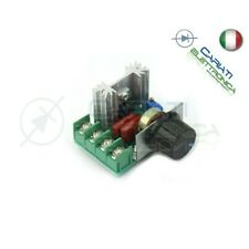 Driver AC 2000W 220V - Dimmer regolatore di velocità giri