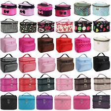 Professional Cosmetic Case Makeup Bag Box Storage Handle Organizer Travel Bags