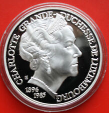 "Luxemburg 25 Ecus 1996 Silber PP-Proof  "" Charlotte "" #F0252"