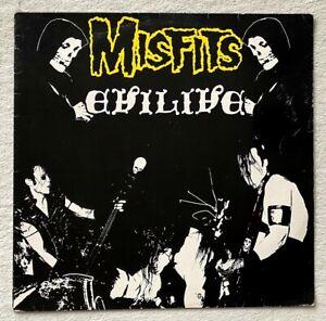 THE MISFITS . evil live LP  German Press 1984 Danzig Samhain Punk KBD Black Flag