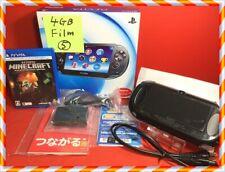 Sony PS vita PCH-1100 3G/WiFi ZA01 4GB memory protect film BOX charger
